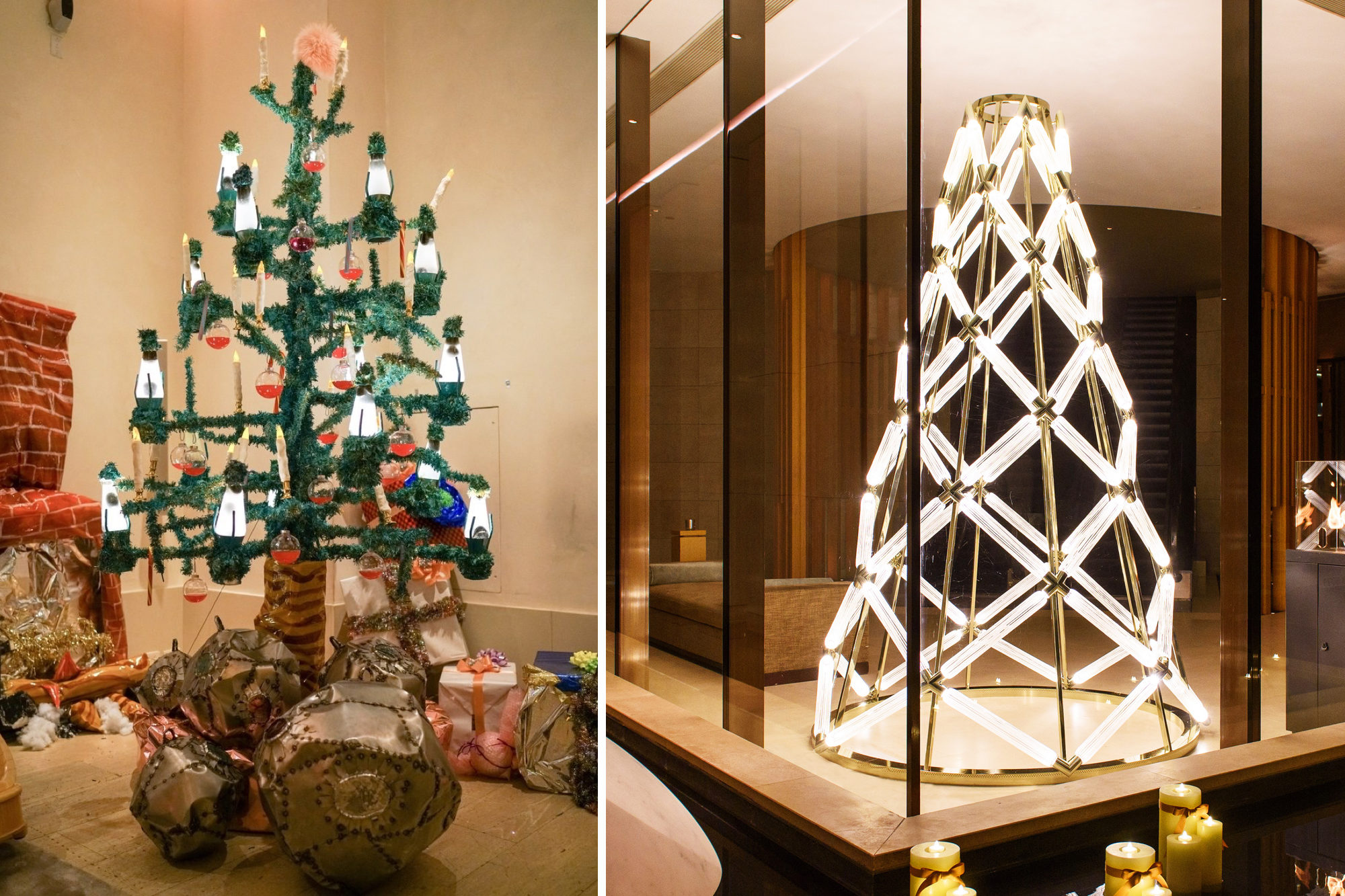 Please Stop Designer Christmas Trees Surface