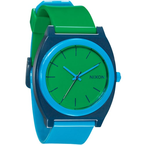 Nixon Time Teller P Watch – Green / Blue / Navy