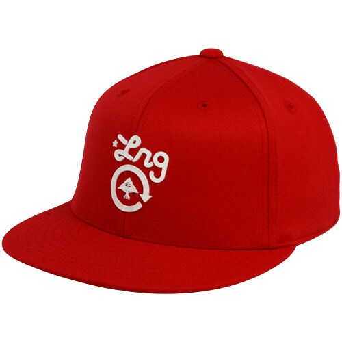 LRG Get Em 210 Fitted Hat – Red