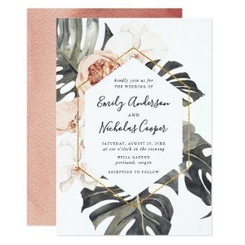 Orchid Wedding Invitations Swan S