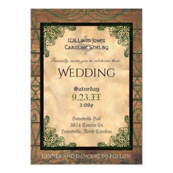 Irish Wedding Invitations Swan S