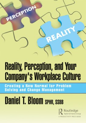 Reality, Perception, and Your Company's Workplace Culture Creating a New Normal for Problem Solving and Change Management book cover