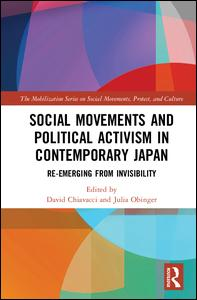 Image result for Social Movements and Political Activism in Contemporary Japan: Re-emerging from Invisibility (The Mobilization Series on Social Movements, Protest, and Culture)