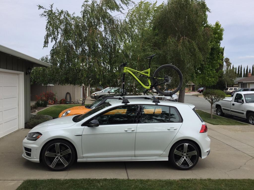 golf mk7 bike rack