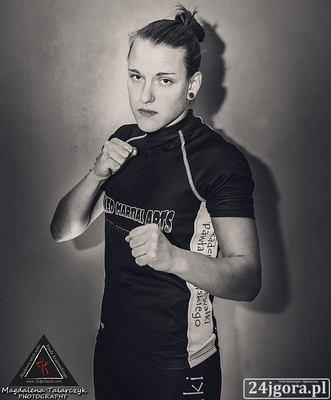 "Natalia Baczyńska (""Baka"") | MMA Fighter Page | Tapology"