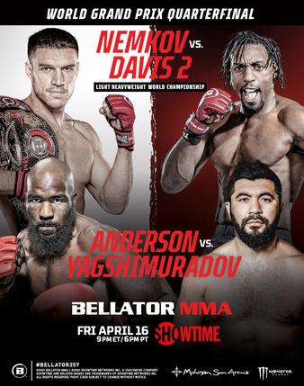 Bellator 257: Nemkov vs. Davis 2   MMA Event   Tapology