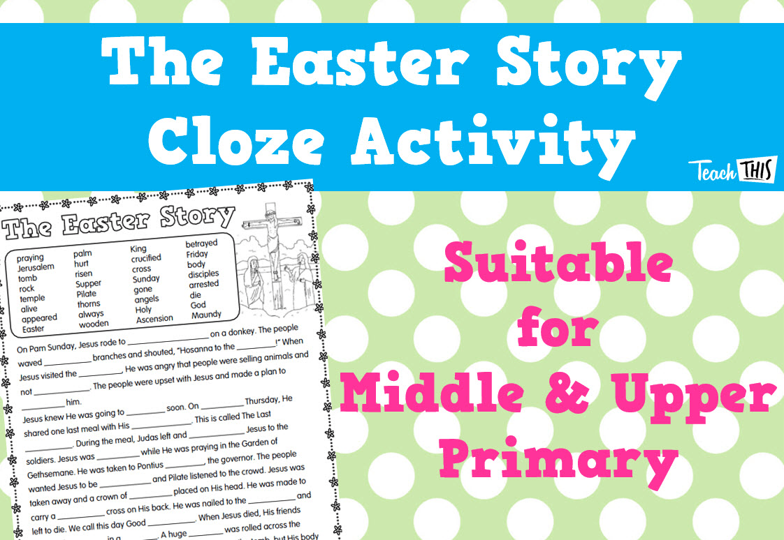 Easter Cloze Activity