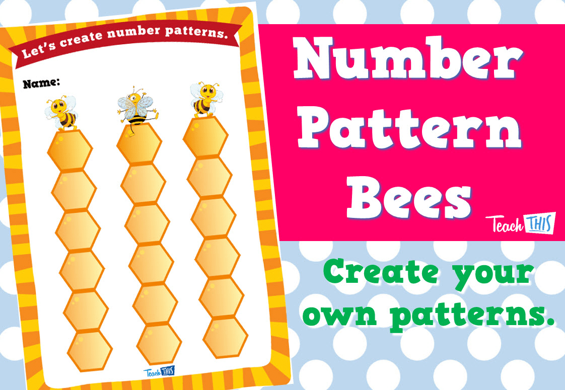 Number Pattern Bees Teacher Resources And Classroom Games Teach This