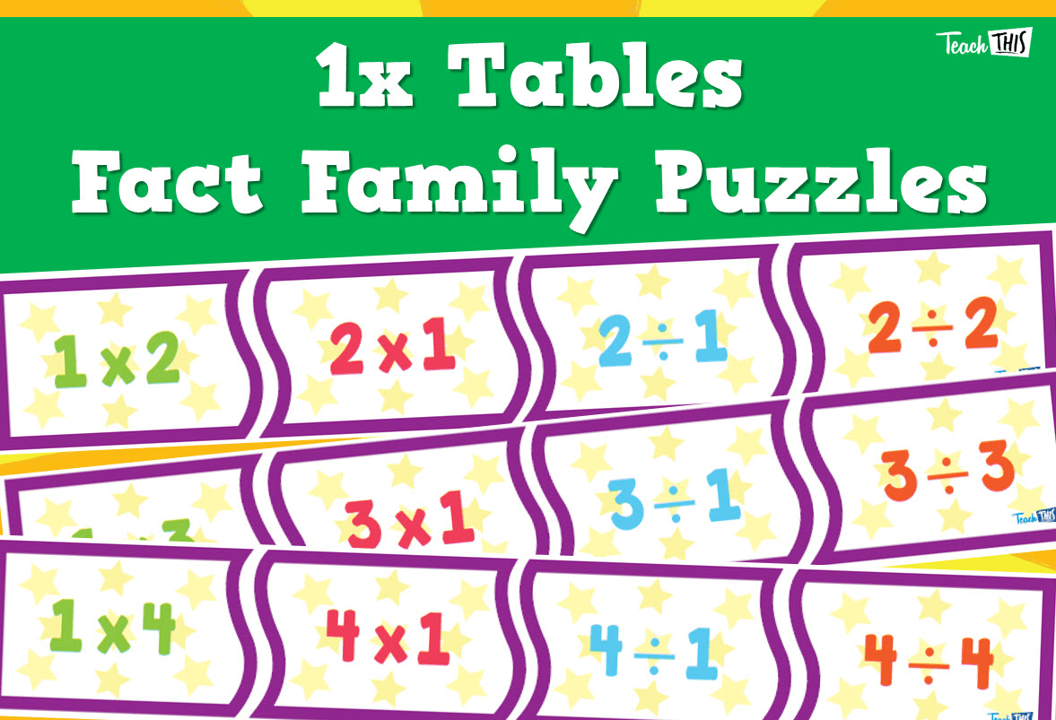 Times Tables Puzzles