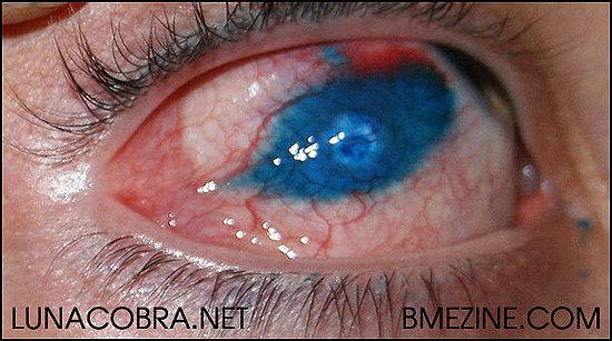 The first eye tattoo!