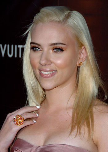 Take a tip from Scarlett Johansson and get white nails.