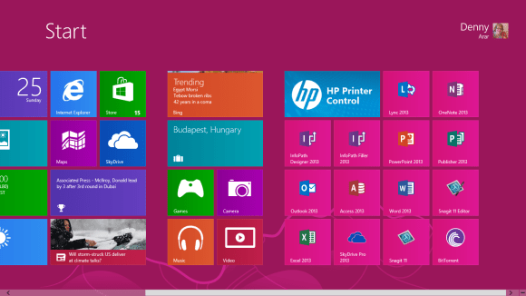 office 2011  for windows 8