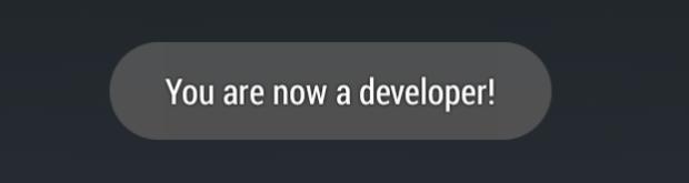 unlocked developer options