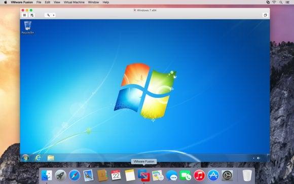 VMware releases Fusion 7, ready for OS X Yosemite   Macworld
