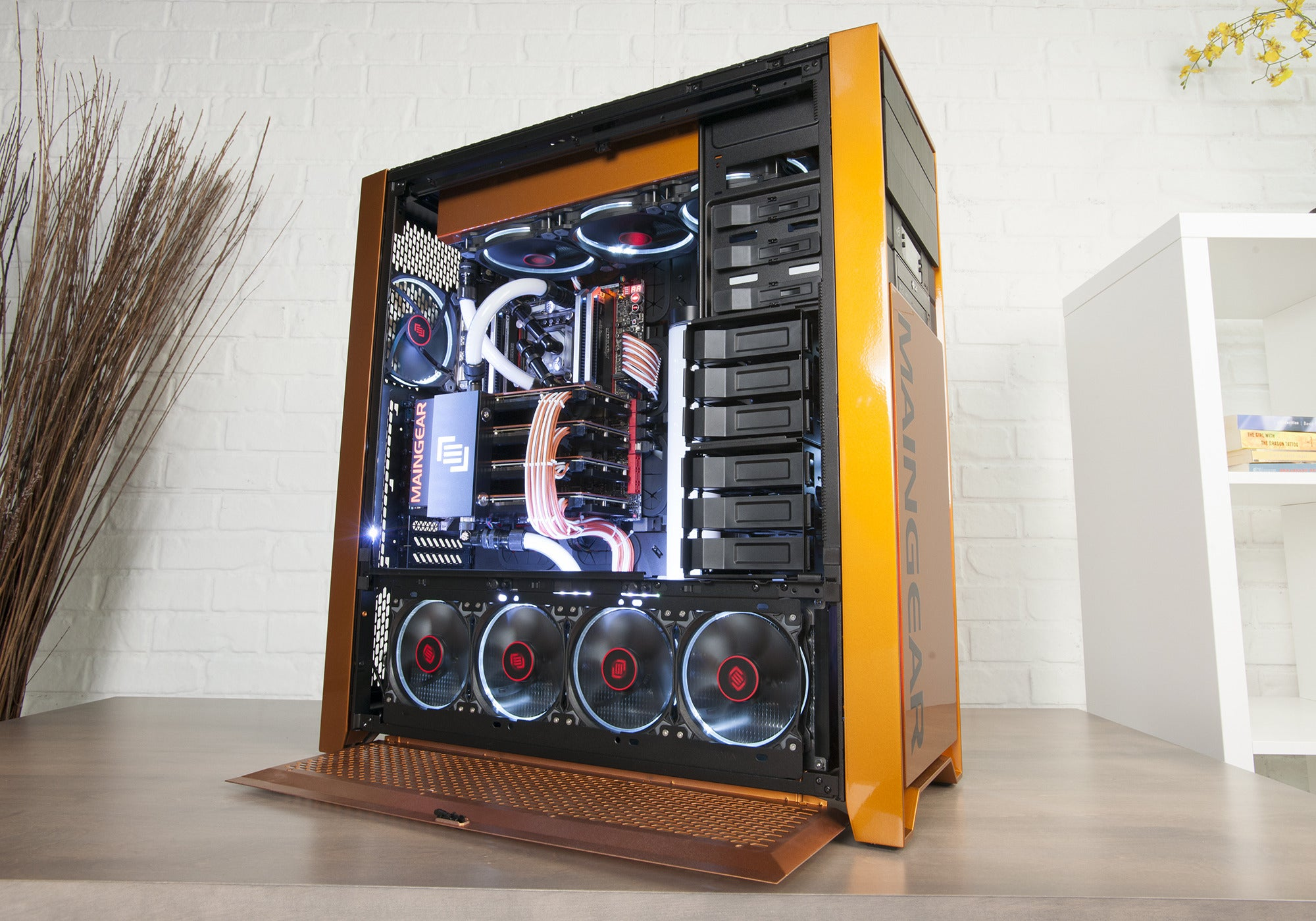 Review Maingear Epic Force X99 With 4 Way Titan X Cards