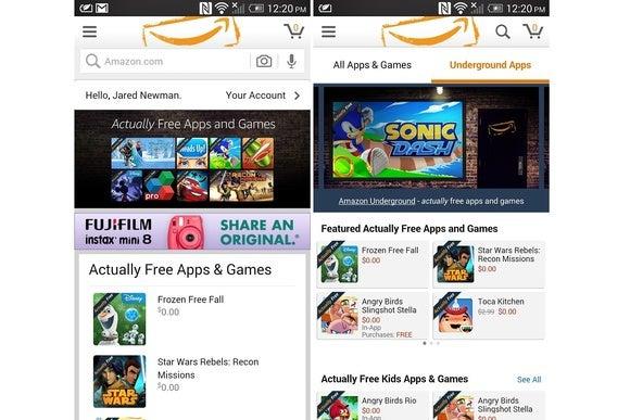 amazon underground ios app