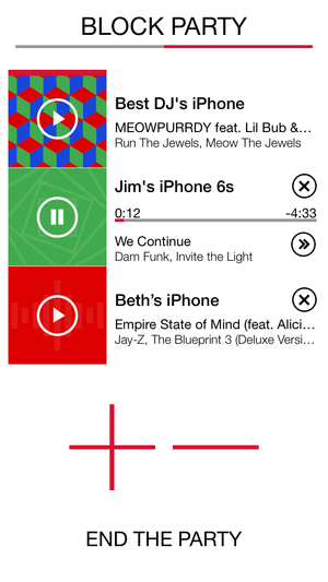 ultimate ears block party application