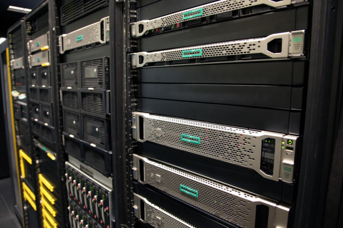 how rack servers from hpe dell and ibm