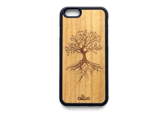 alto realwood iphone