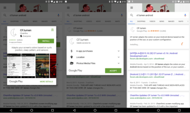google search app download