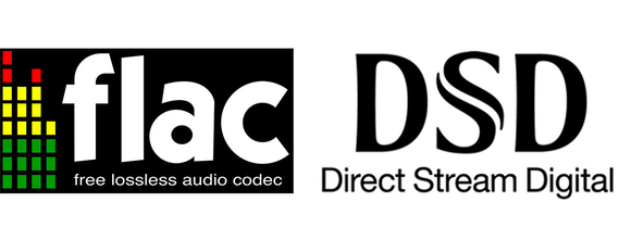 FLAC and DSD