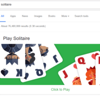 You can now play Tic Tac Toe right from the search results