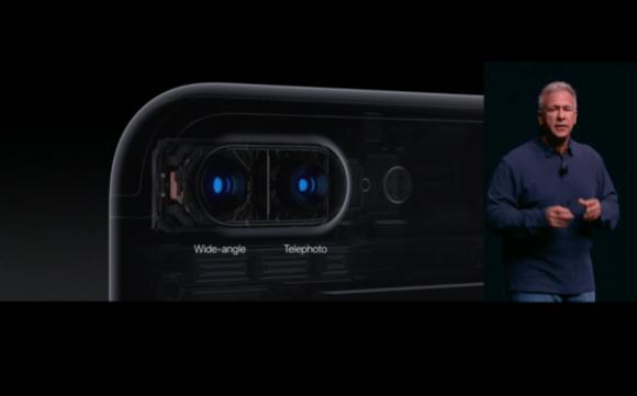 dual cameras iphone7
