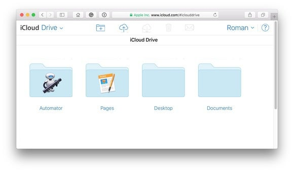 icloud desktop documents folders