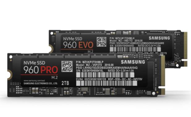 960 Pro 960 EVO SSD Samsung