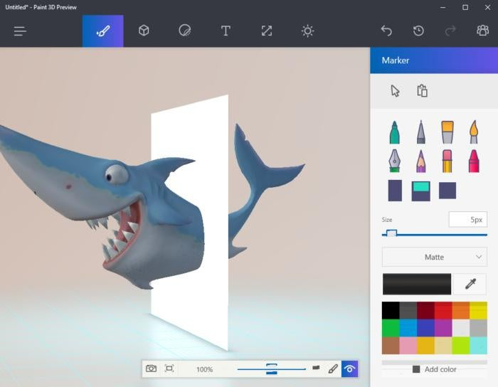 A Paint 3D Preview Is Already Available For Windows
