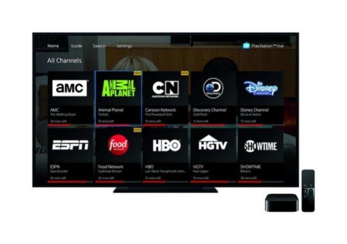 playstation vue apple tv