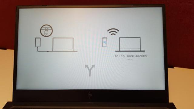 HP Elite x3 Lap Dock