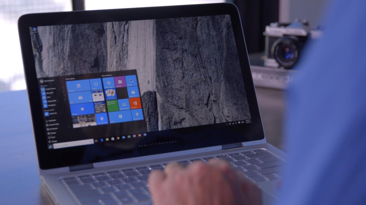 windows 10 laptop primary