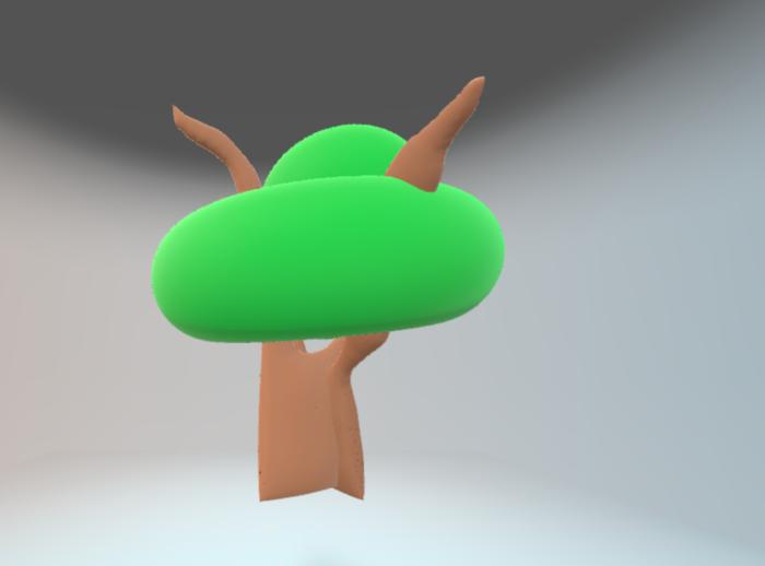 paint3d finished tree