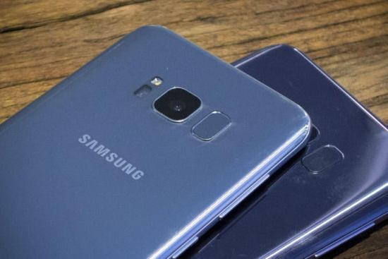 galaxy s8 fingerprint