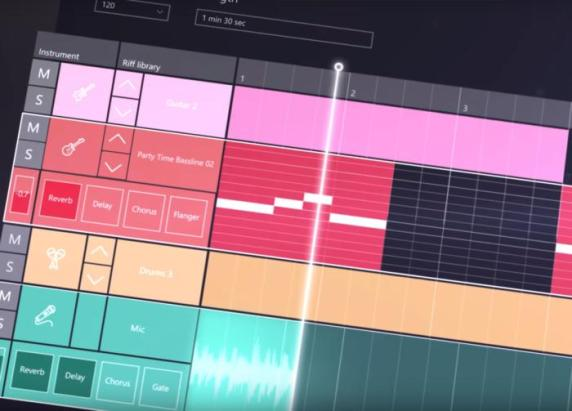 groove music maker Windows 10 Creators Update