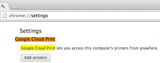 Tip No. 44: Cloud Print service