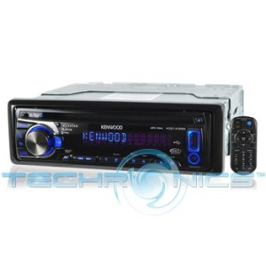 Kenwood KDCX395 InDash CD Receiver With iPod Connectivity