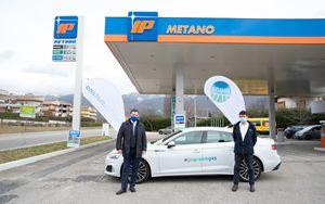 Snam4Mobility, nel Lazio al via prima di 26 stazioni rifornimento IP a gas naturale