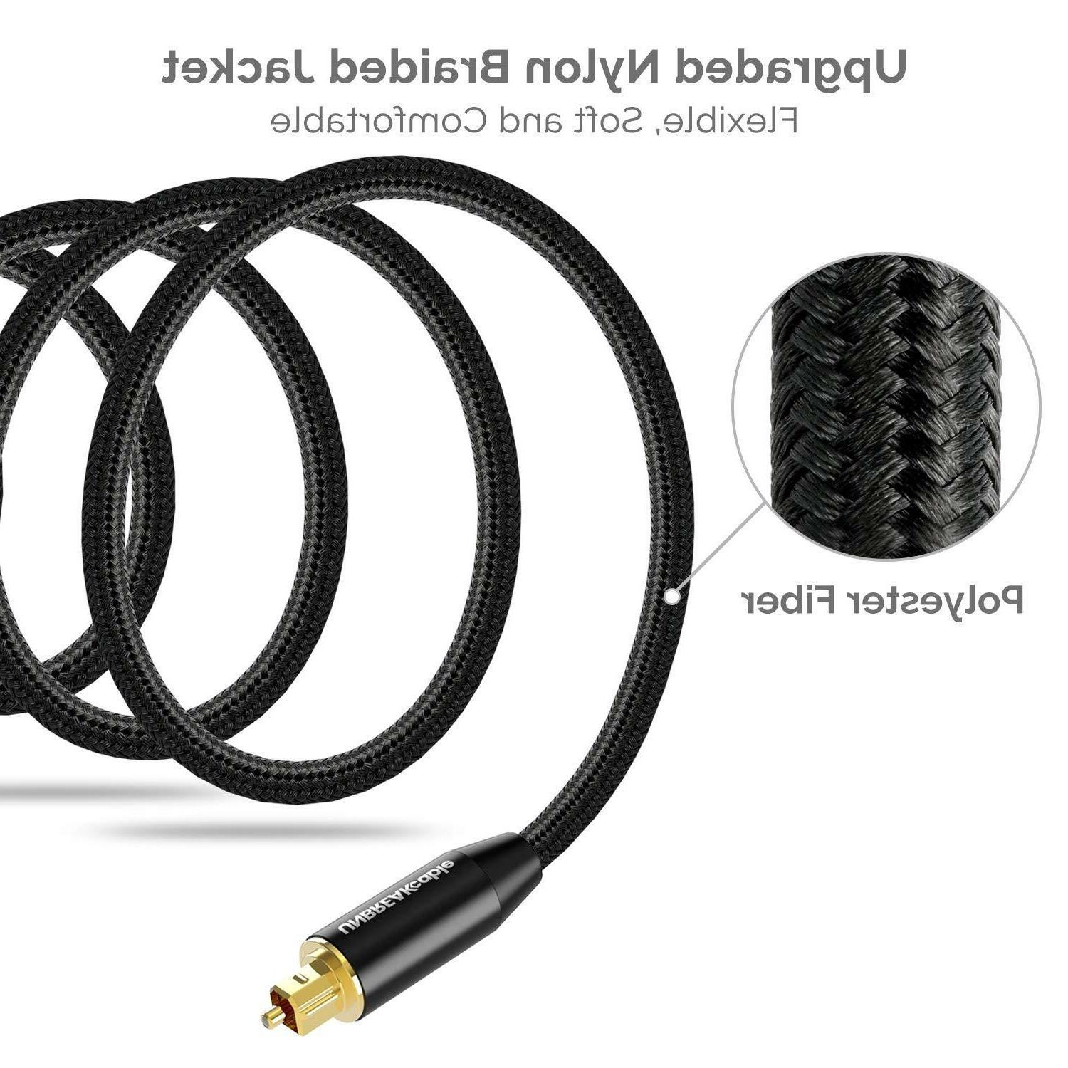 Unbreakcable Digital Optical Audio Cable For Sound Bar