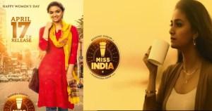 """Keerthy Suresh """"Miss India"""" Movie Release Date"""