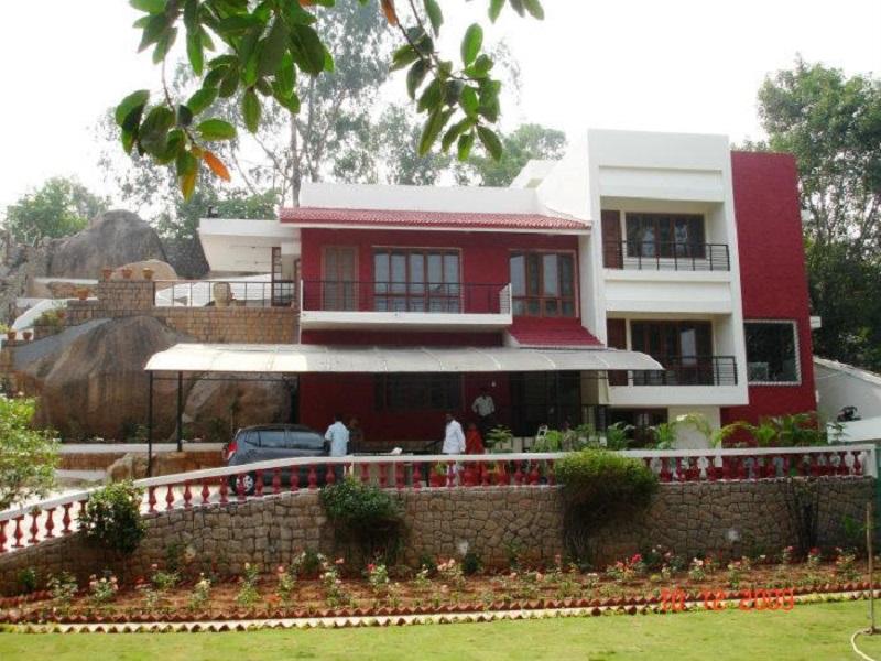 Tollywood Hero Nagarjuna house images in Hyderabad