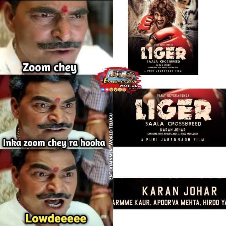 Liger vijay-devarakonda Trolls