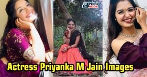 Actress Priyanka M Jain images
