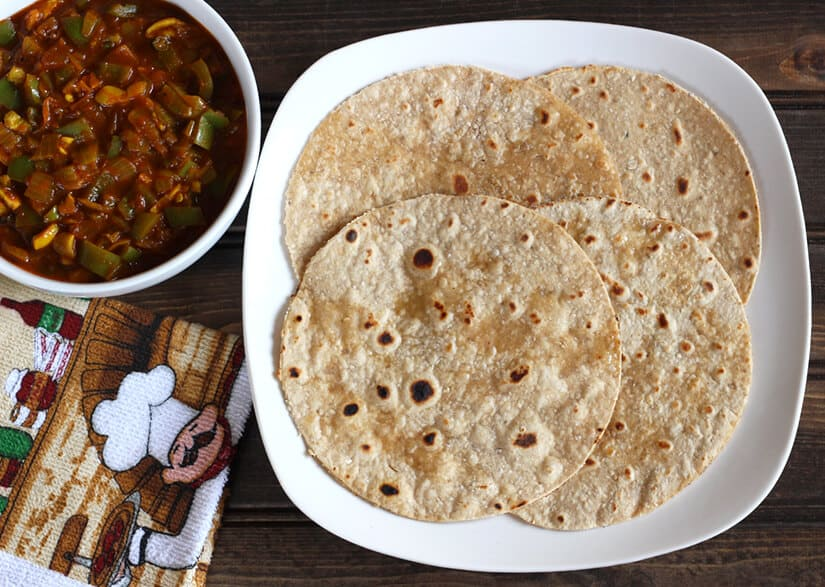 Advantages of eating chapati in dinner