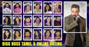 BIGG BOSS TAMIL 5 ONLINE VOTING
