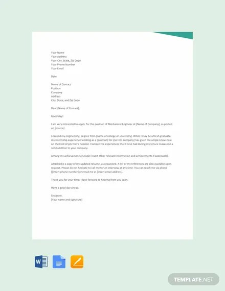 Proposal Letter Templates Google Docs