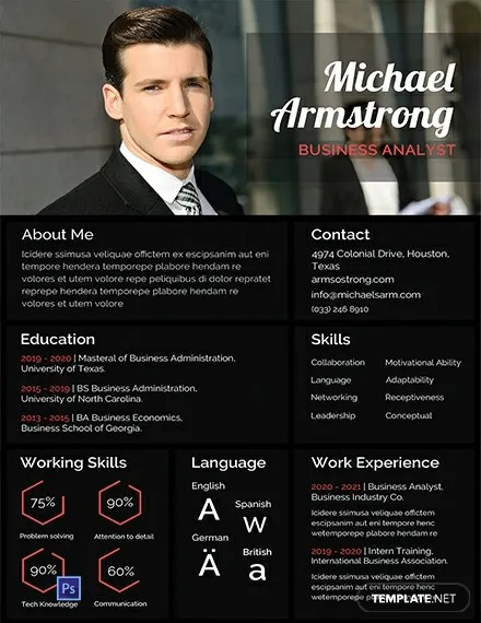 Recruiters and hiring managers spend an average of 6 seconds reviewing a candidate's resume before they make an initial assessment. 15 Mba Resume Templates Doc Pdf Free Premium Templates