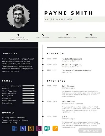 Professional resume template | resume, cv templates for ms word and pages. Free Corporate Resume Publisher Templates 9 Download Template Net