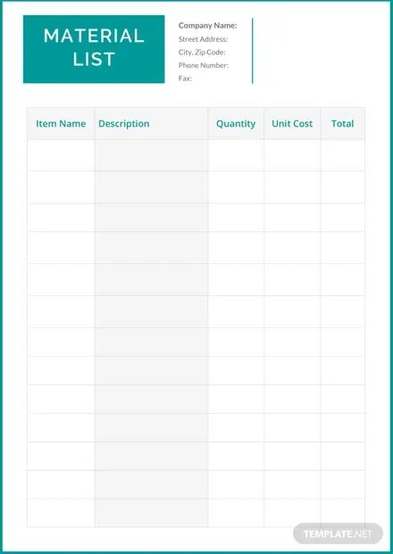 Photography Shot List Template Download 23 Lists In Word Pages PDF